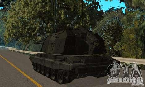 Мста-С, 2С19 Зимний вариант для GTA San Andreas вид справа