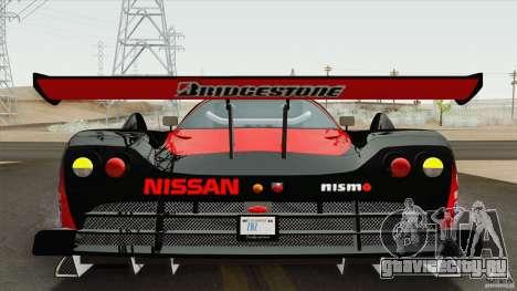 Nissan R390 GT1 1998 v1.0.1 для GTA San Andreas вид слева