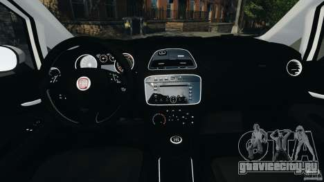 Fiat Punto Evo Sport 2012 v1.0 [RIV] для GTA 4 вид сзади