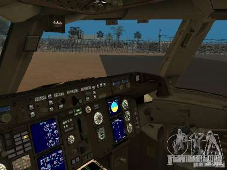 Boeing 757-200 American Airlines для GTA San Andreas вид сзади