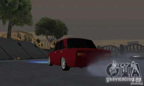 ВАЗ 2101 Рестайлинг для GTA San Andreas вид сзади