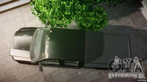 Ford F-350 Unmarked [ELS] для GTA 4 вид справа