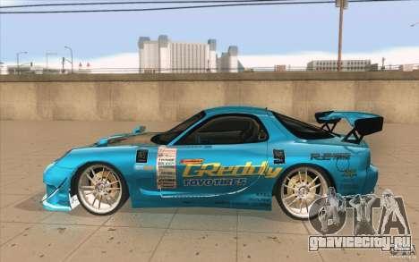 Mazda RX-7 911 Trust для GTA San Andreas вид слева