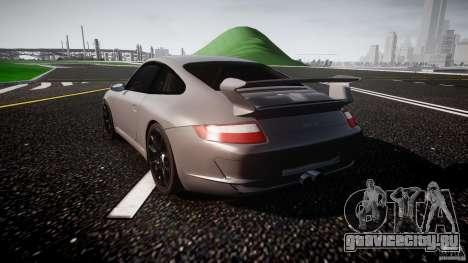 Porsche GT3 997 для GTA 4 вид справа
