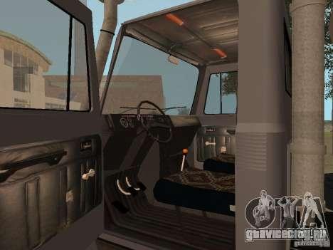 ГАЗ 3309 для GTA San Andreas вид справа