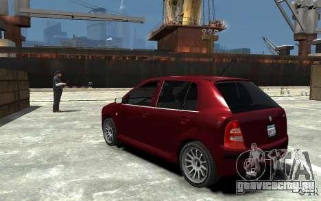 Skoda Fabia для GTA 4