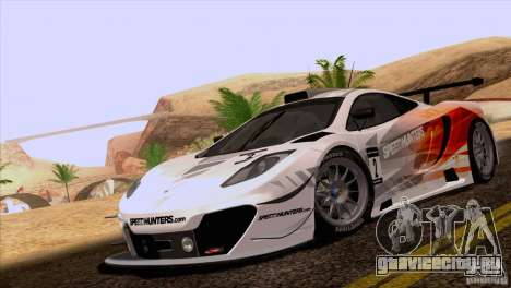 McLaren MP4-12C Speedhunters Edition для GTA San Andreas