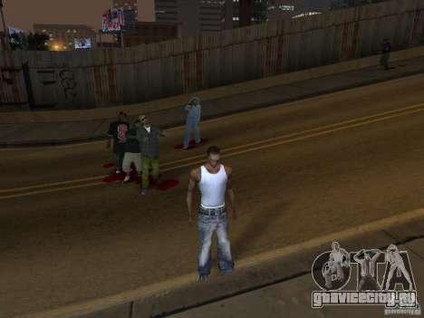 The Walking Dead для GTA San Andreas третий скриншот