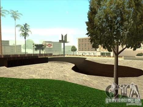 Карта для паркура и площадка bmx для GTA San Andreas девятый скриншот