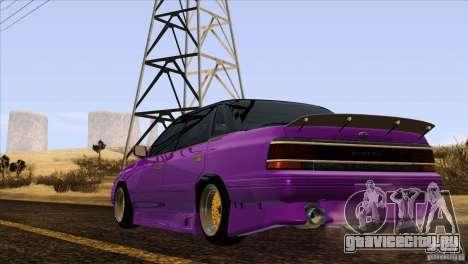 Subaru Legacy Drift Union для GTA San Andreas вид сбоку