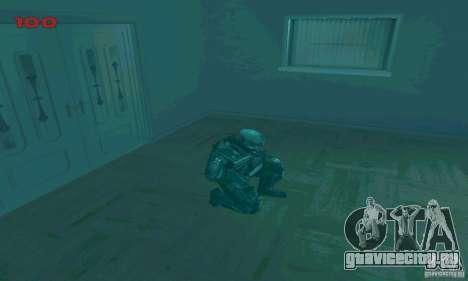 Cпецназовец из Амбреллы для GTA San Andreas девятый скриншот