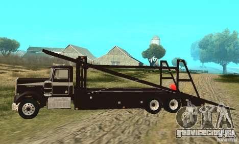Kenworth Car Hauler для GTA San Andreas вид слева