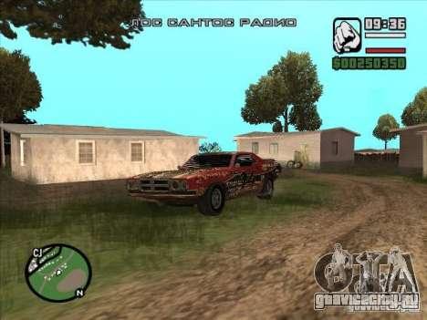 FlatOut bullet для GTA San Andreas вид слева
