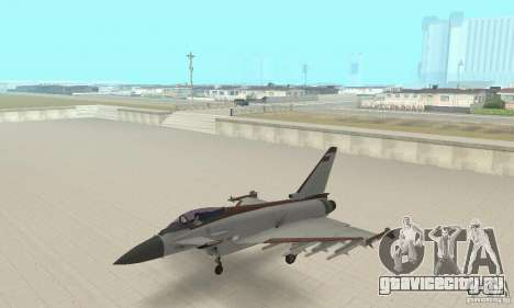 EF-2000 Typhoon V1.3 для GTA San Andreas вид справа