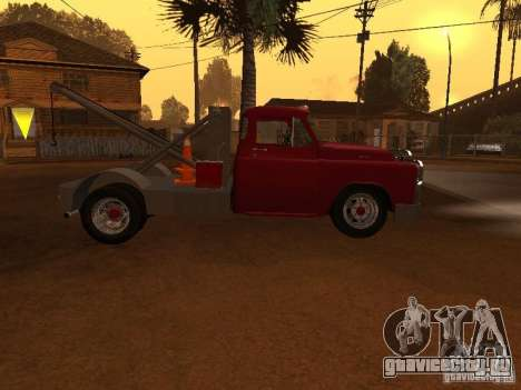 Dodge Towtruck для GTA San Andreas вид слева