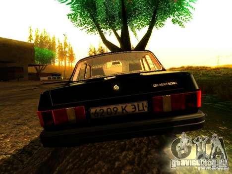 ГАЗ Волга 31029 для GTA San Andreas вид сзади слева