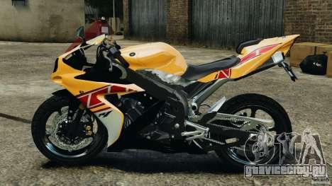 Yamaha YZF-R1 2012 для GTA 4 вид слева