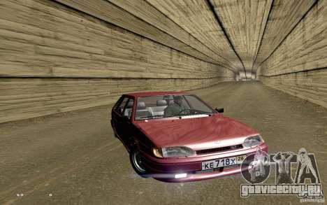 ВАЗ 2114 Quality для GTA San Andreas салон