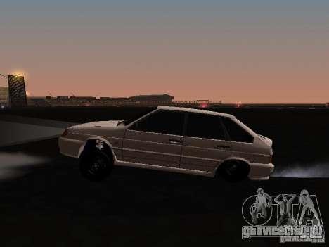 ВАЗ 2114 Хулиган для GTA San Andreas вид слева