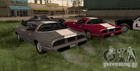 Eon Phoenix для GTA San Andreas вид слева