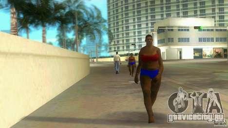 Big Lady Cop Mod 2 для GTA Vice City