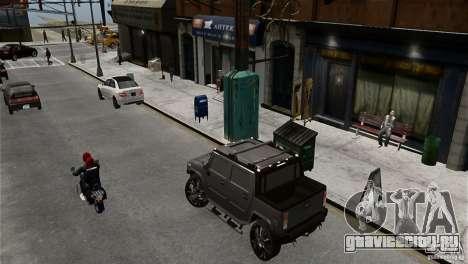 Hummer H2 SUT для GTA 4 вид слева