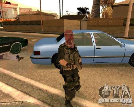 Скин душмана из COD4 для GTA San Andreas второй скриншот