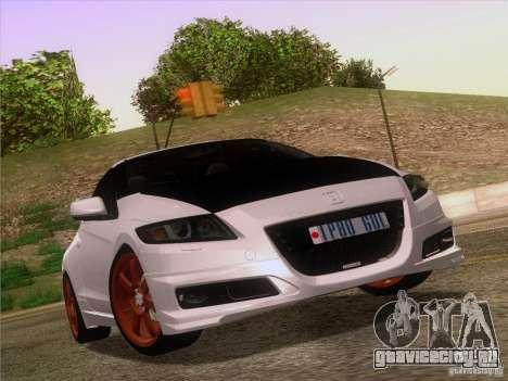 Honda CR-Z Mugen 2011 V2.0 для GTA San Andreas салон