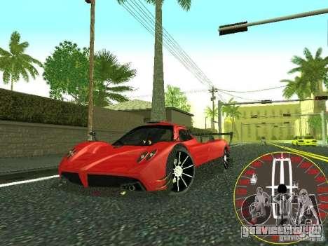 Новый спидометр Lincoln для GTA San Andreas четвёртый скриншот