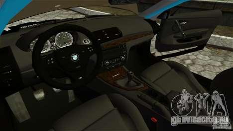 BMW 135i HellaFush для GTA 4 вид сбоку