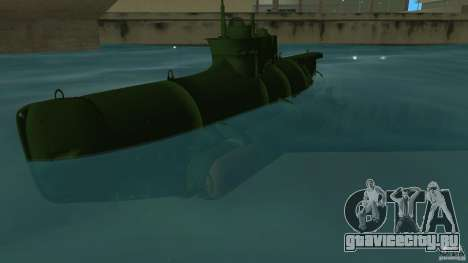Seehund Midget Submarine skin 1 для GTA Vice City