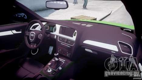 Audi S4 2010 v1.0 для GTA 4 вид сверху