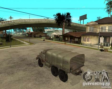 Урал-4230 для GTA San Andreas вид слева