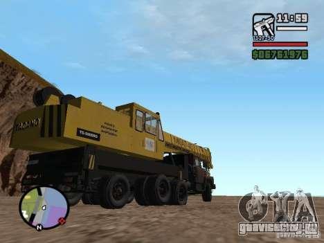 КрАЗ-250 MKAT-40 для GTA San Andreas вид сзади
