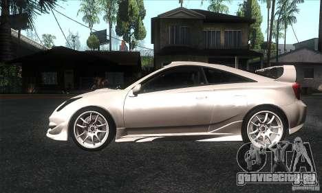 Toyota Celica-SS2 Tuning v1.1 для GTA San Andreas вид слева
