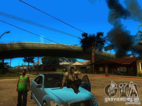 Animation Mod для GTA San Andreas третий скриншот
