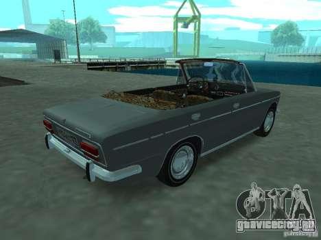 ВАЗ 2103 Cabrio для GTA San Andreas вид справа