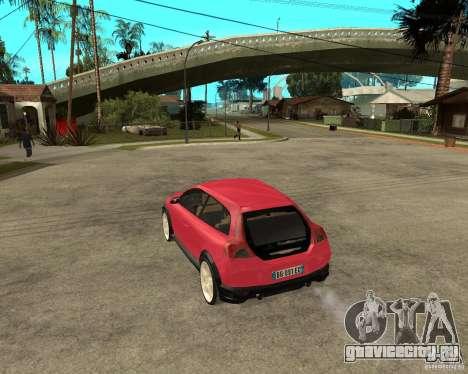 VOLVO C 30 T5 DEL 2008 для GTA San Andreas вид слева