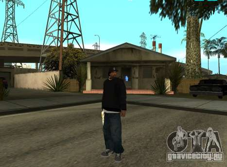 Ice Cube для GTA San Andreas второй скриншот