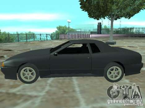 Elegy Кабрио для GTA San Andreas вид сверху
