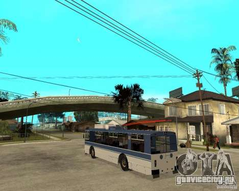 Троллейбус ЗИУ 52642 для GTA San Andreas вид слева