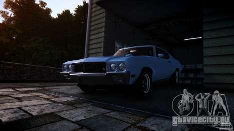Buick GSX 1970 для GTA 4 вид справа