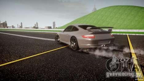 Porsche GT3 997 для GTA 4 двигатель