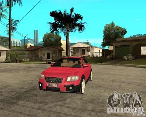VOLVO C 30 T5 DEL 2008 для GTA San Andreas вид сзади