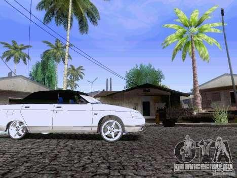 ВАЗ 21103 Maxi для GTA San Andreas вид сзади