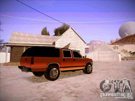 Chevrolet Suburban 1998 для GTA San Andreas вид справа