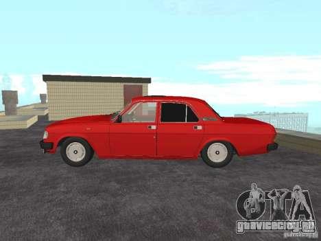 ГАЗ 31029 Волга для GTA San Andreas вид справа
