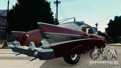 Chevrolet Bel Air Hardtop 1957 Light Tun для GTA 4 вид справа