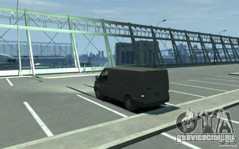 Ford Transit 2011 для GTA 4 вид сзади слева