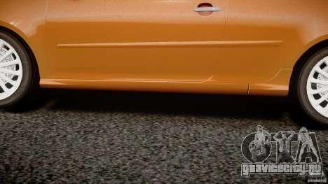 Volkswagen Golf R32 v2.0 для GTA 4 вид снизу